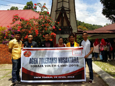 Kunjungan agen Toleransi Nusantara April