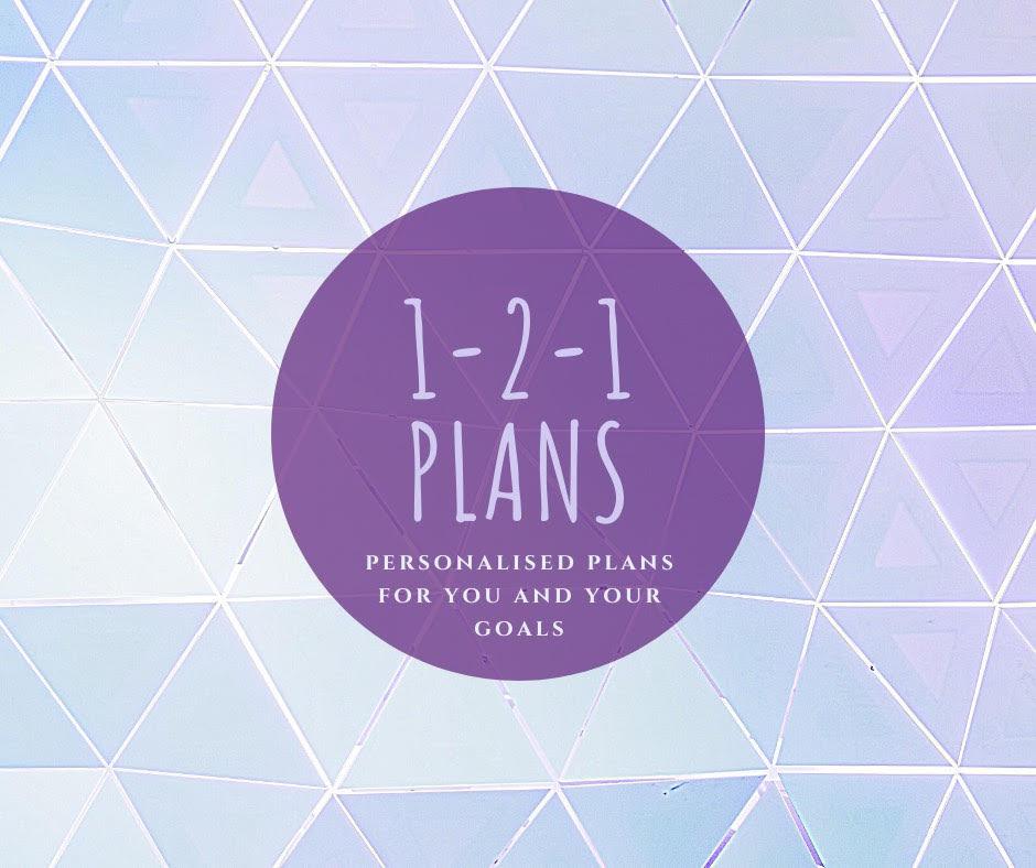 1-2-1 Online PT Plans