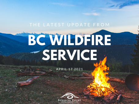 UPDATE: from BC Wildfire Service
