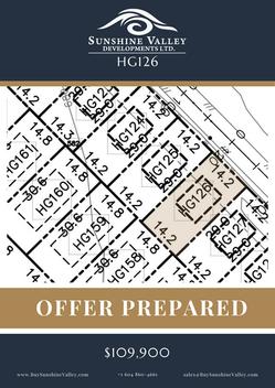 HG126 [OFFER PREPARED]