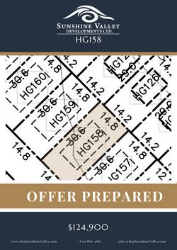 HG158 [OFFER PREPARED]