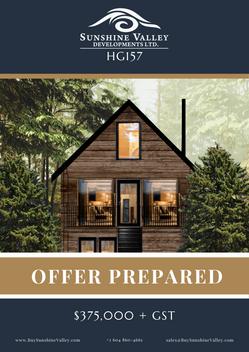 HG157 [OFFER PREPARED]