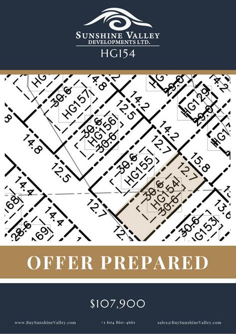 HG154 [OFFER PREPARED]