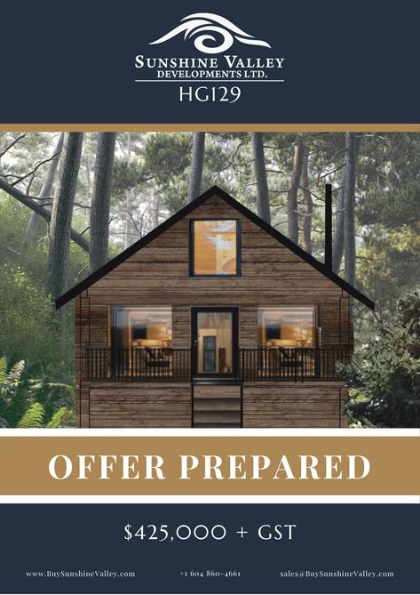 HG129 [OFFER PREPARED]