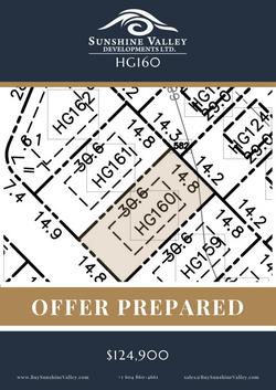 HG160 [OFFER PREPARED]