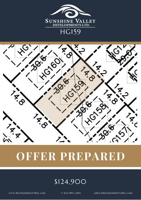 HG159 [OFFER PREPARED]
