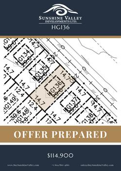 HG136 [OFFER PREPARED]