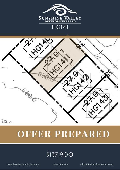 HG141 [OFFER PREPARED]