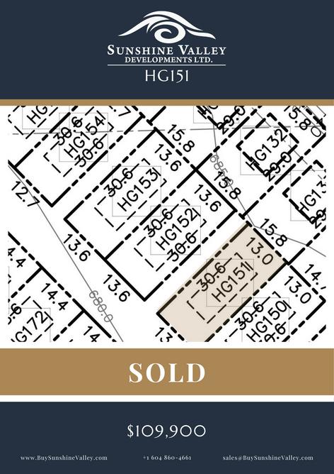 HG151 [SOLD]