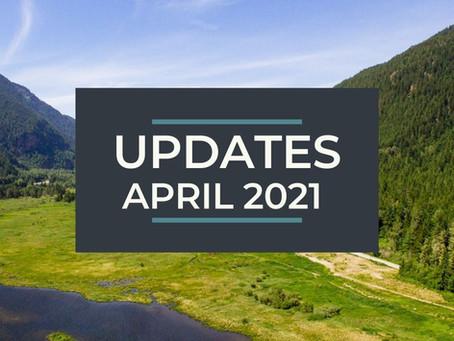 Updates - April 2021