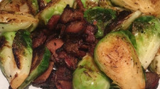 Keto Bacon Brussel Sprouts