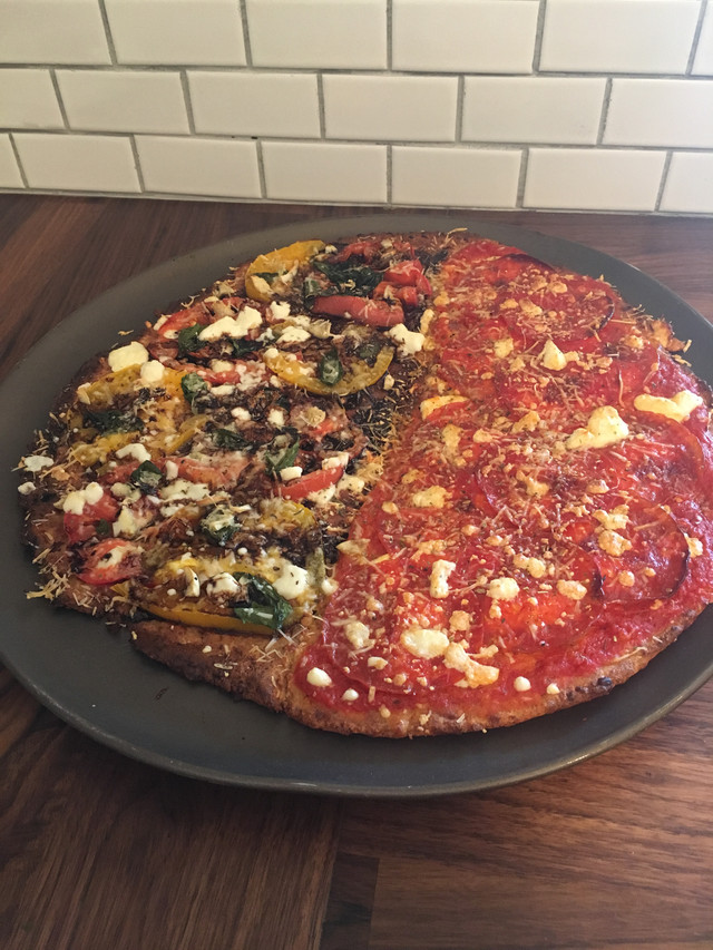 Keto Pizza that the whole family loved!
