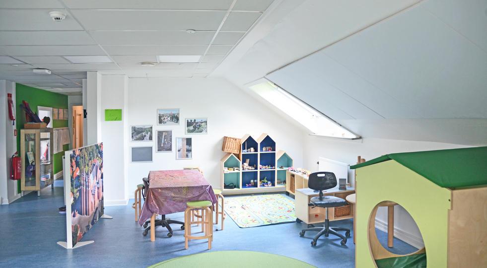 ALPHA DIRECT & ALPHA SKÆRMVÆG - akustik og støjdæmpning i børnehave