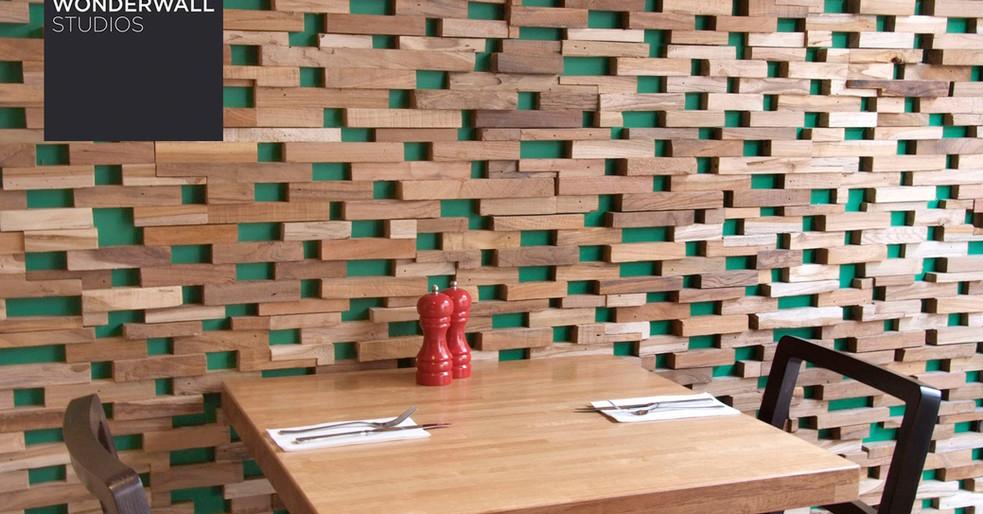 Dekorativ trævæg – skab flot diffusion i rummet