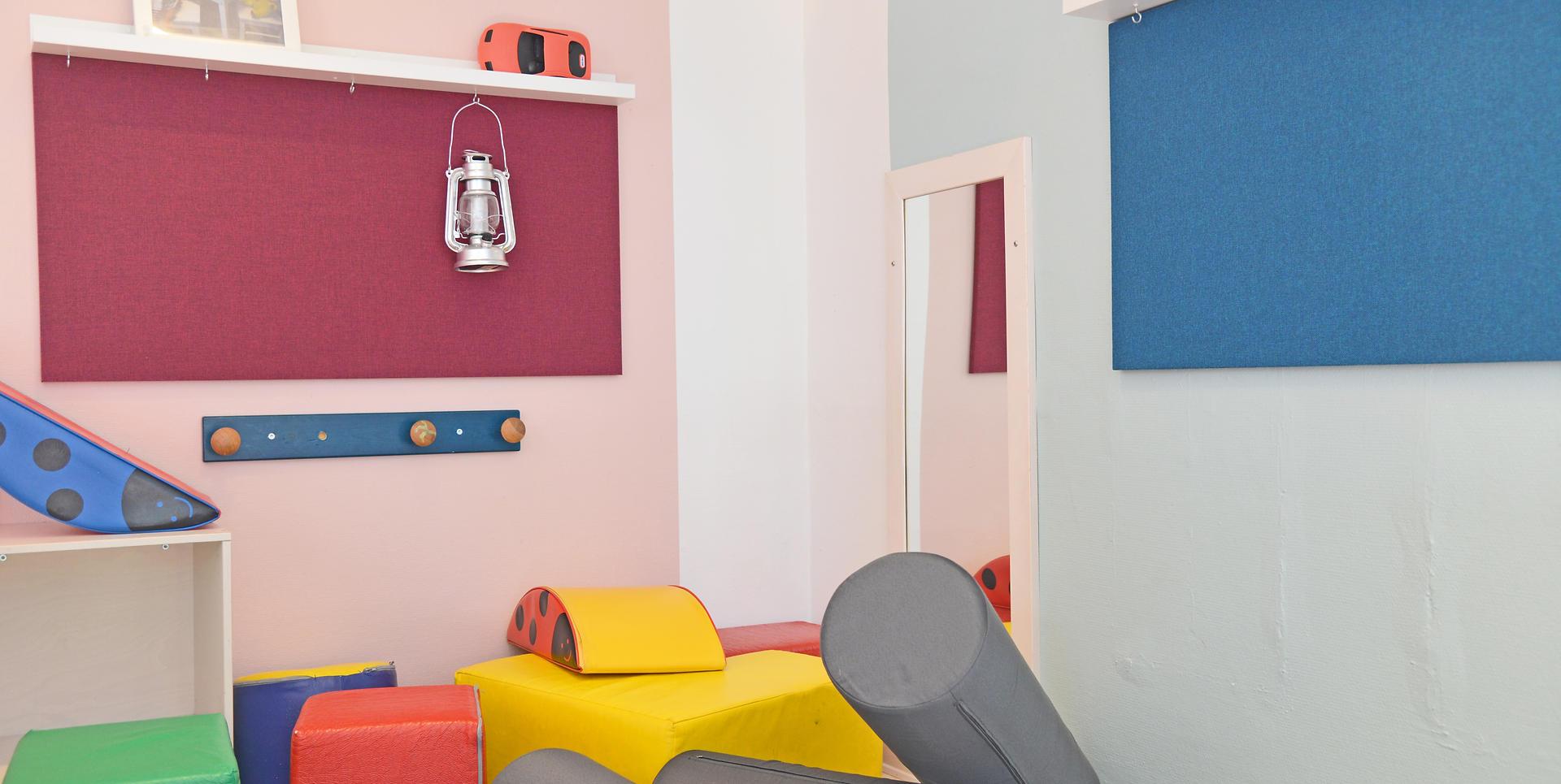ALPHA TYST - akustik og støjdæmpning i børnehave