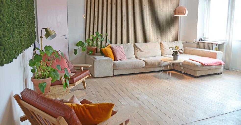 Mospaneler – akustikvæg til privathjem