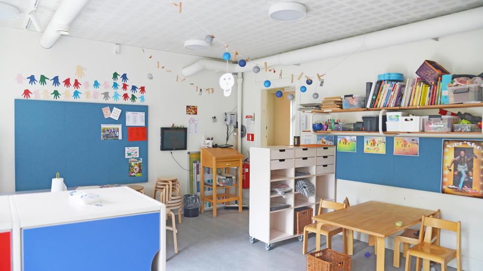 ALPHA TYST – akustik i børnehave