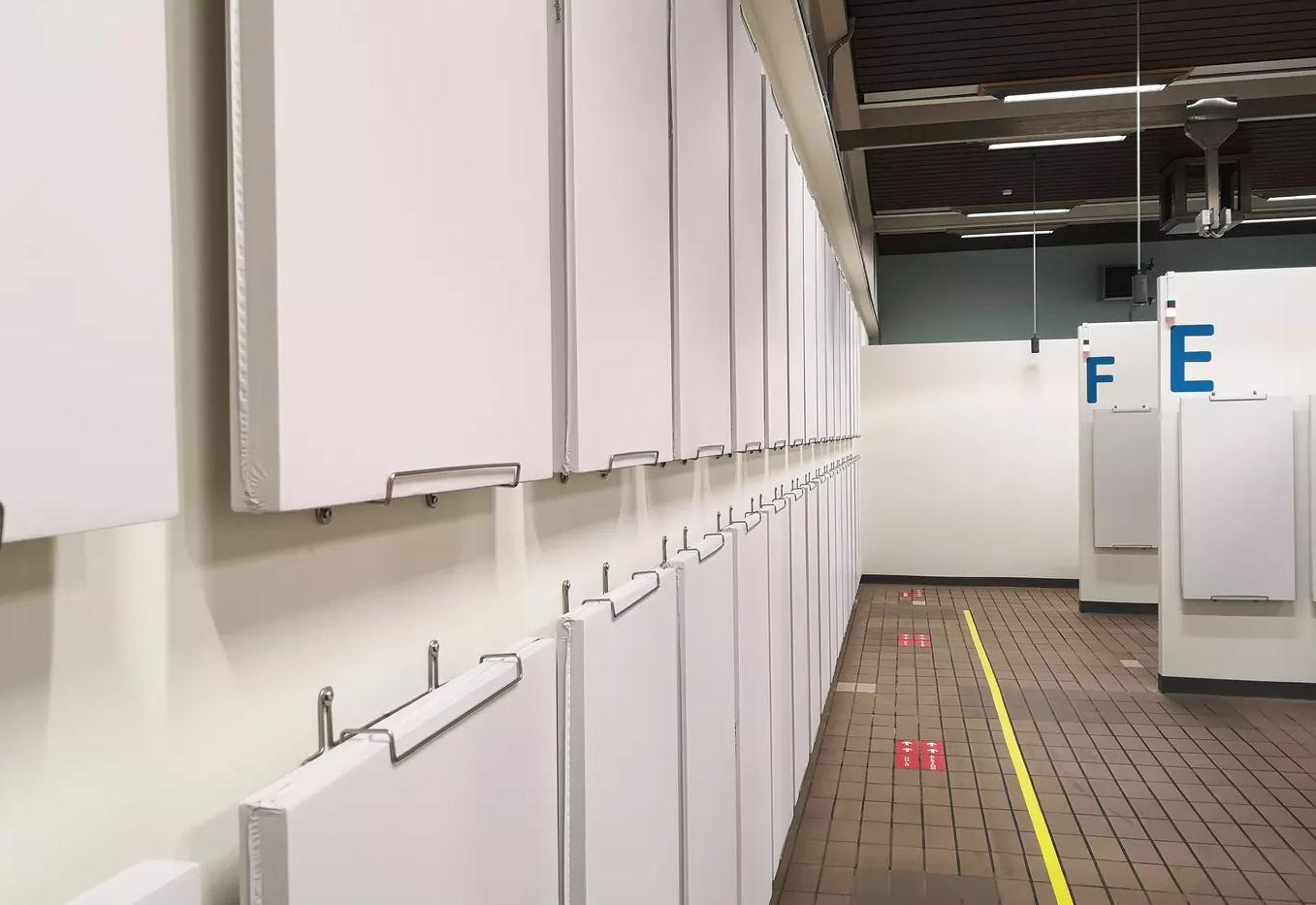 Akustik hos Roskilde covid-19 testcenter