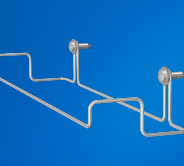 Beslag til akustikvæg i industrien/vågrum