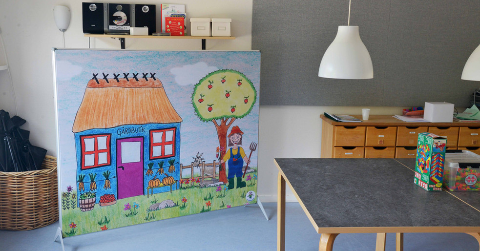 Læringsmiljø Lydbyen – Akustisk skærmvæg i børnehave