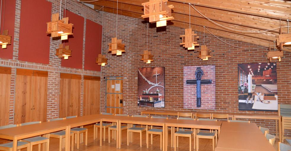 Akustikregulering med akustikbilleder og Alpha TYST i Kirke
