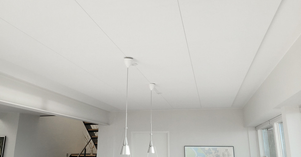 Flat loft med Alpha Direct