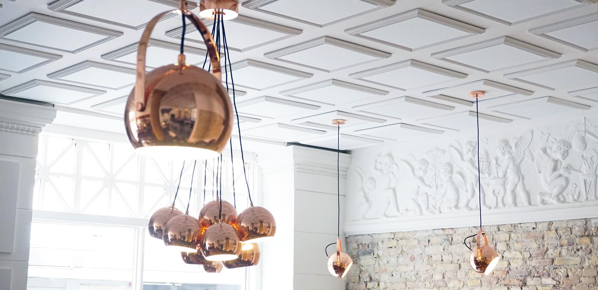 Støjdæmpning på restaurant Köd - nu kan gæsterne spise i ro