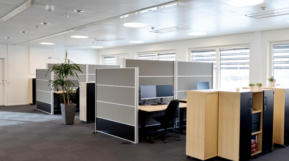 Akustik hos callcenter i et åbent kontormiljø