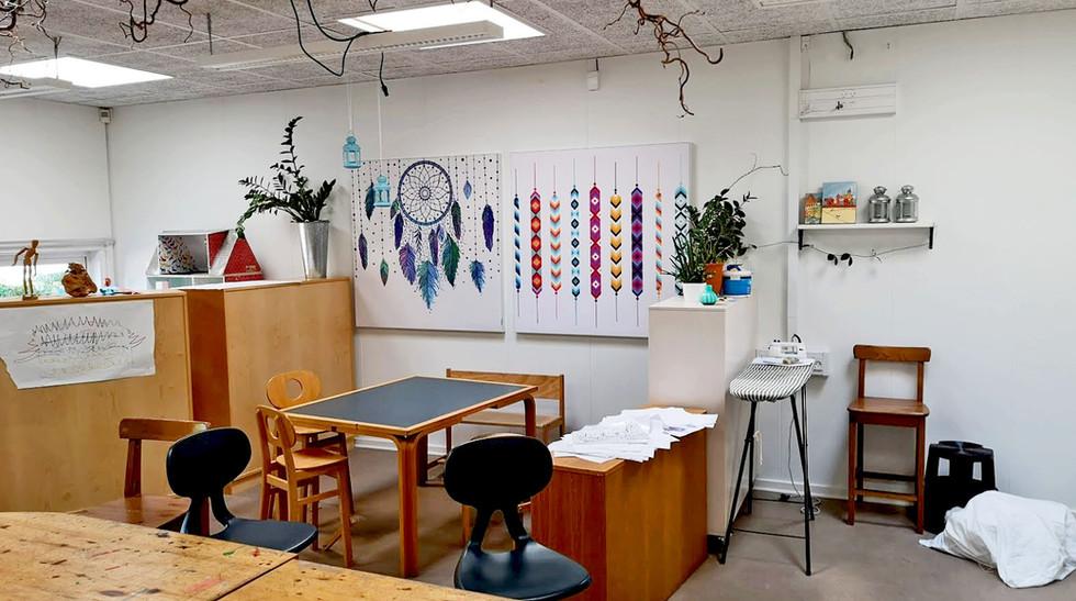 Akustikbilleder i børnehave tilpasset det kreative område