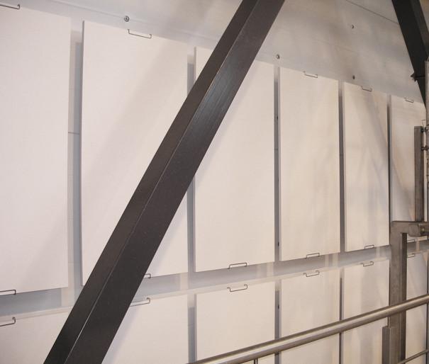 Akustik til vægge i industrien/vågrum