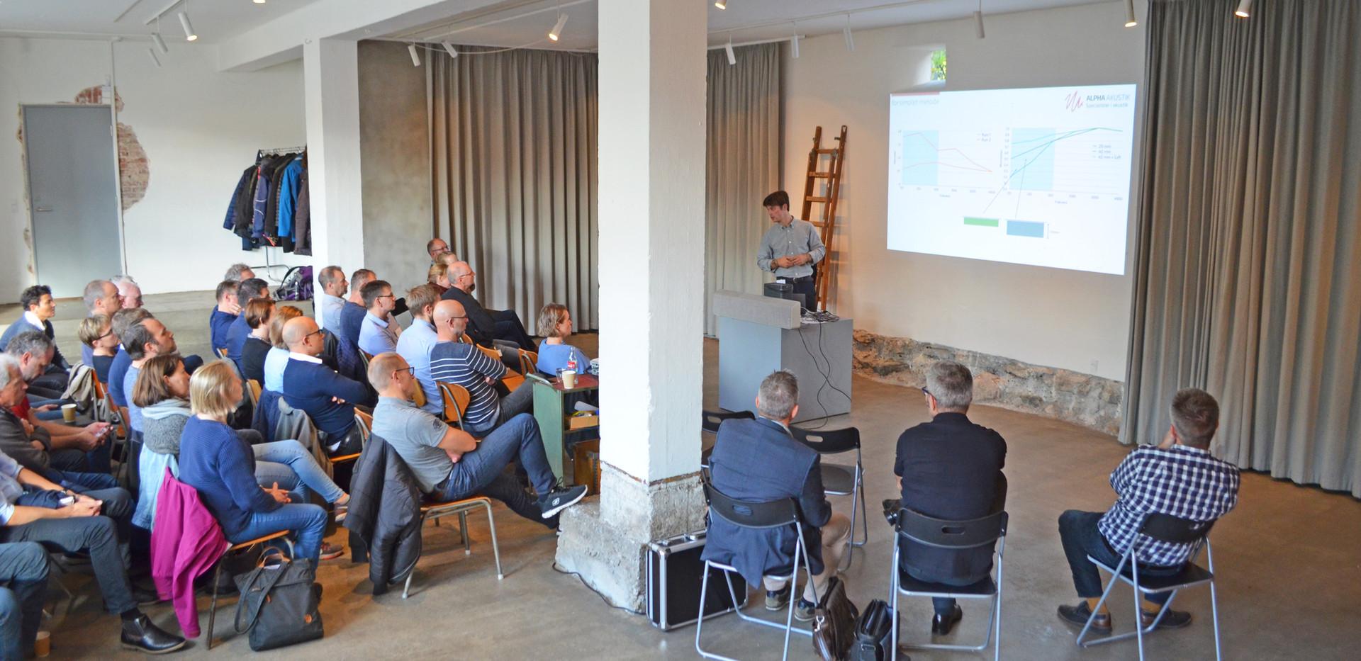 5. Seminar i støj- og arbejdsmiljø