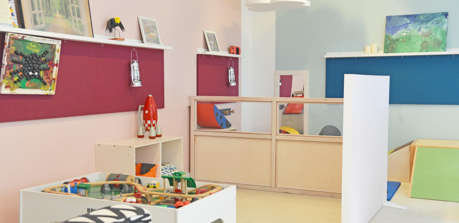Akustiske skærmvægge i børnehave – stillezoner