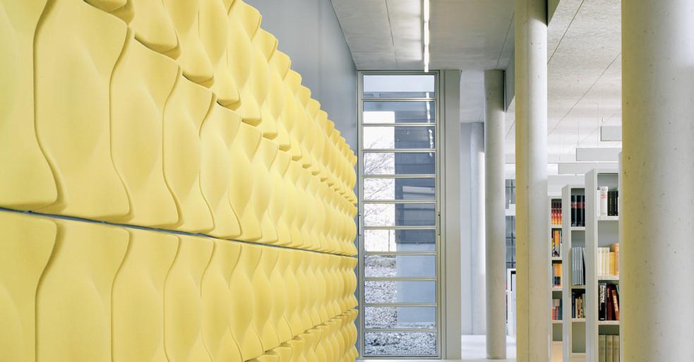 Flot akustikløsning i fine former og farver