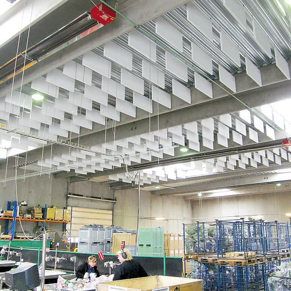 BAFLER - akustik og støjdæmpning i industrien