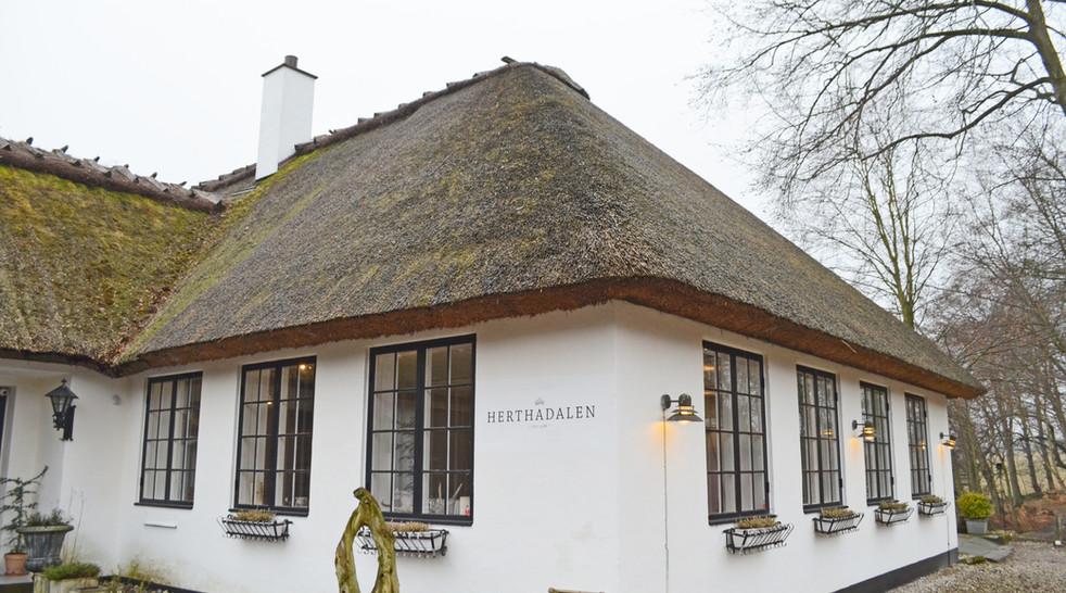 Støjdæmpning på restaurant Herthadalen - nu kan gæsterne spise i ro