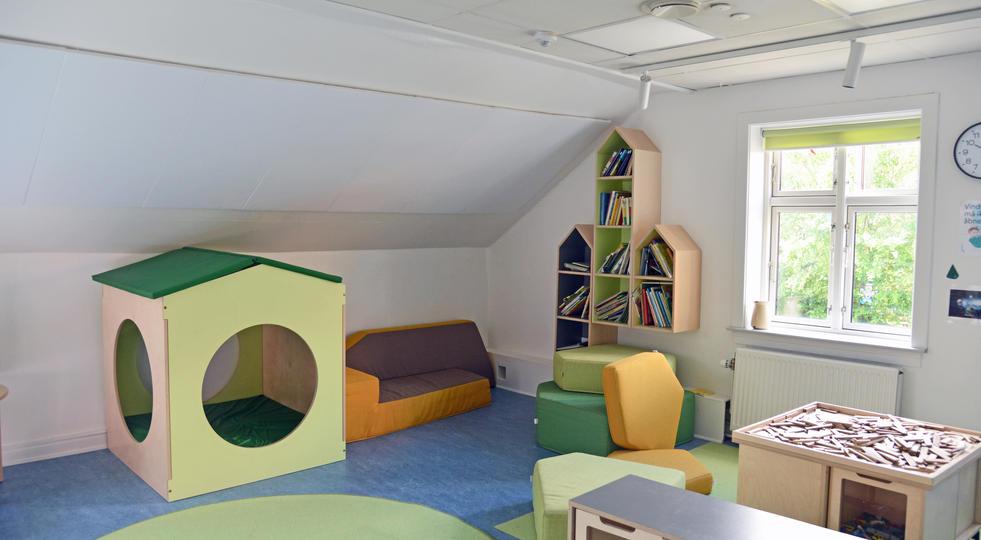 ALPHA DIRECT - akustik og støjdæmpning i børnehave