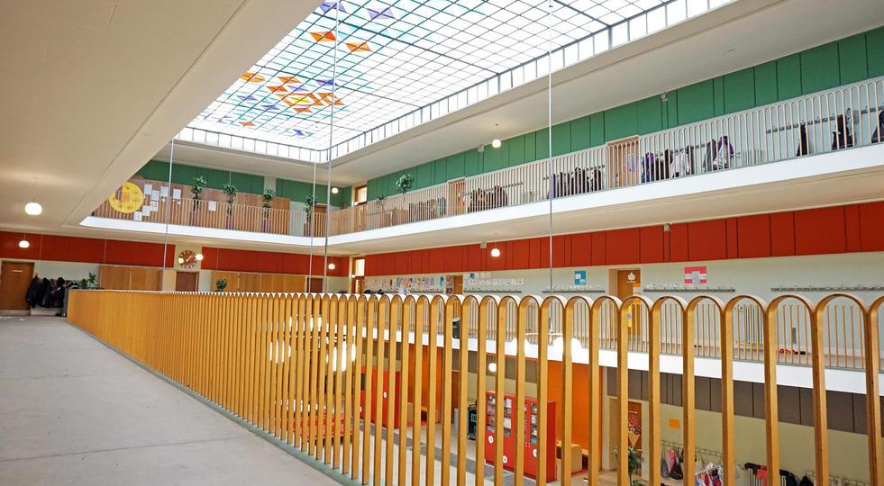 ALPHA TYST - akustik og støjdæmpning i skole
