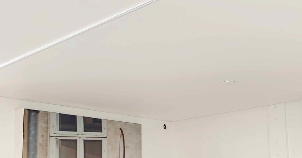 Fugefrit akustikloft – Vecta Stretch