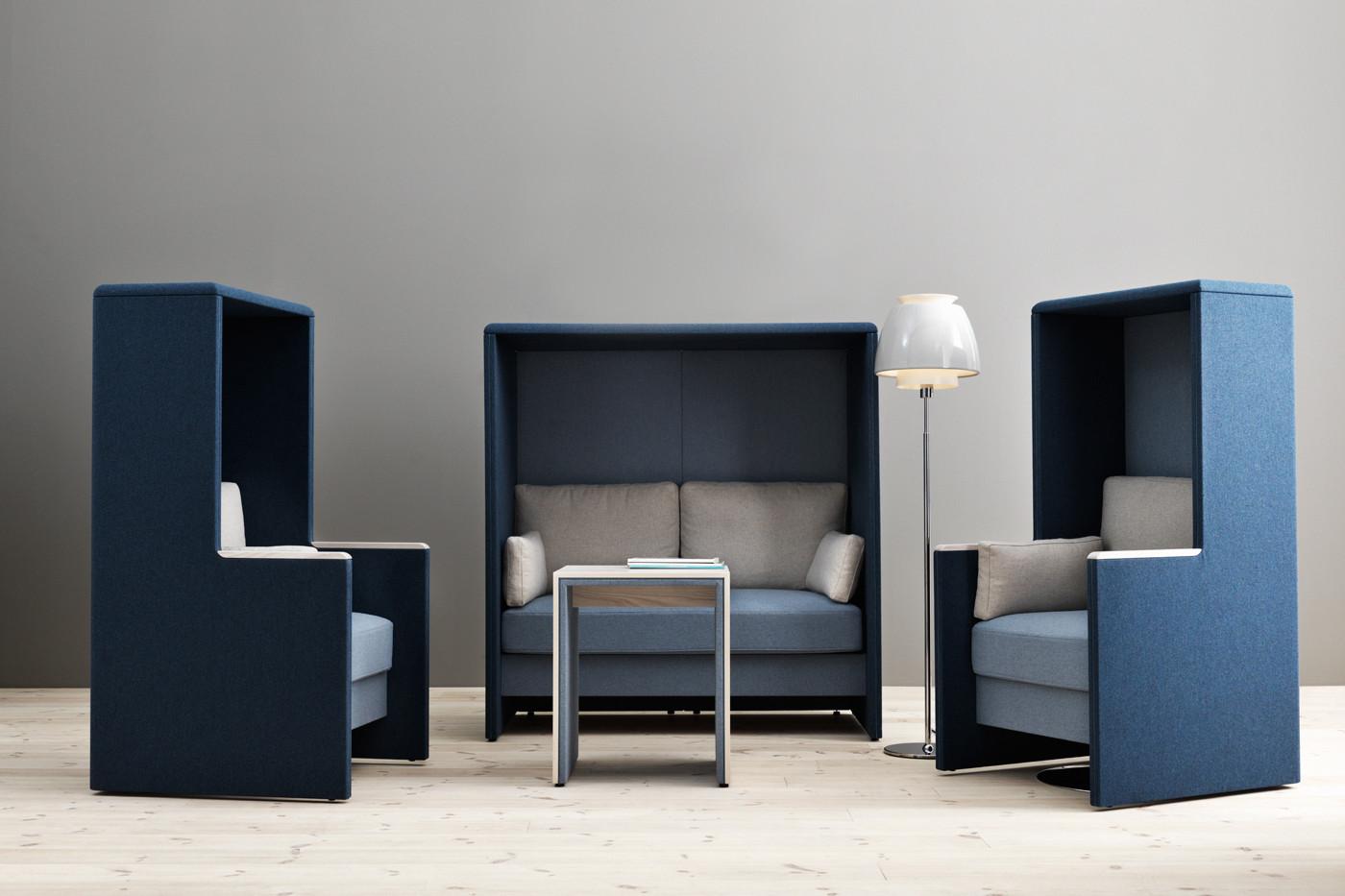 Limbus Akustikmøbler - ro på kontoret