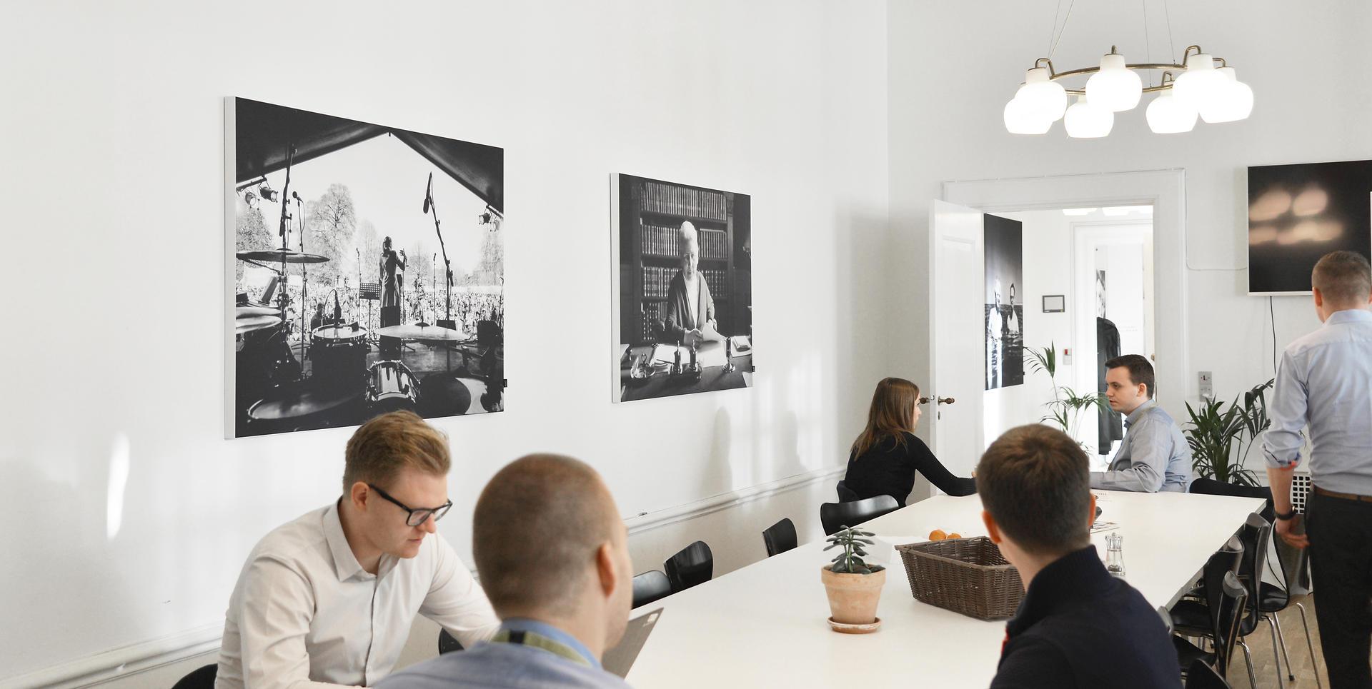 ALPHA AKUSTIKBILLEDER - akustik og støjdæmpning på kontor
