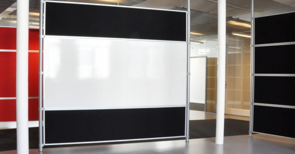 Alpha Rumdeler - få god akustik til kontoret