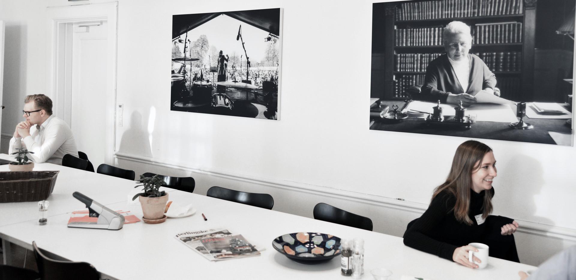 Akustikløsning hos Christiansborg der har skabt god akustik og ro til politisk debat