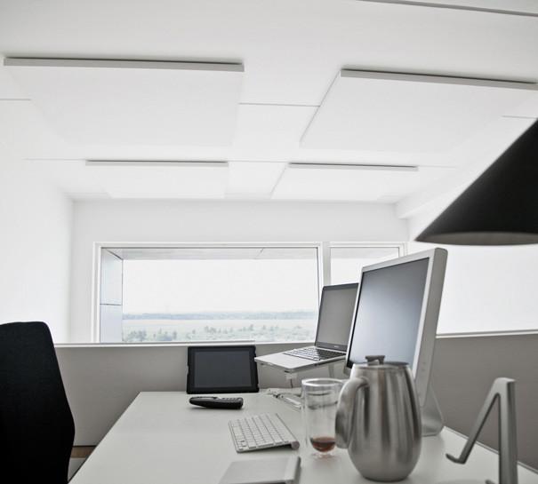 ALPHA SOLO - akustik og støjdæmoning på kontor