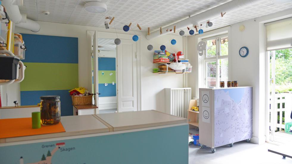 Alpha TYST og Alpha Skærmvægge – akustik i børnehave