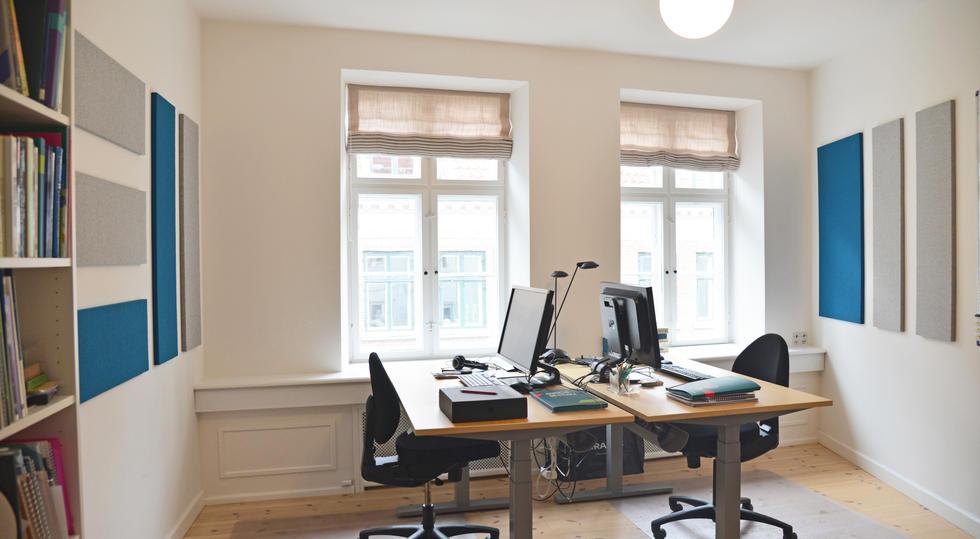 ALPHA TYST - akustik og støjdæmpning på kontor