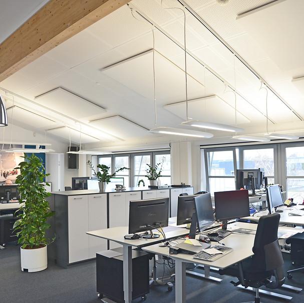 ALPHA SOLO TÆT-PÅ - akustik og støjdæmpning på kontor