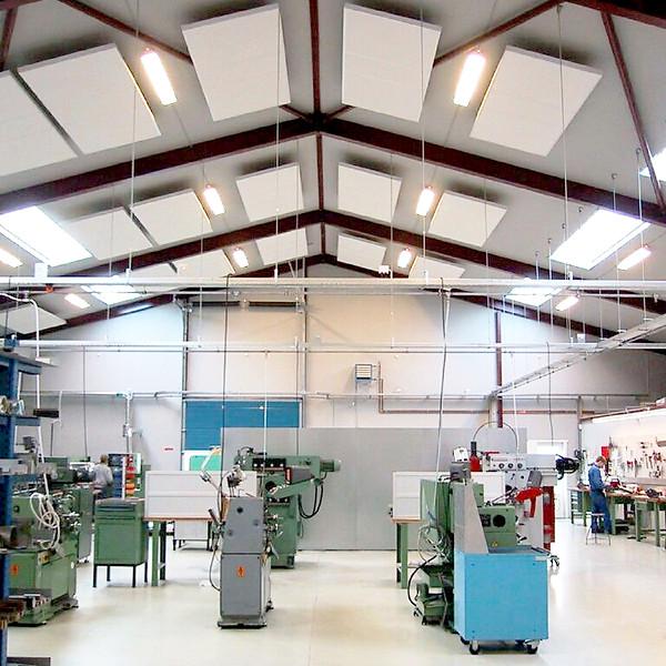ALPHA INDUSTRI - akustik og støjdæmpning i industrien