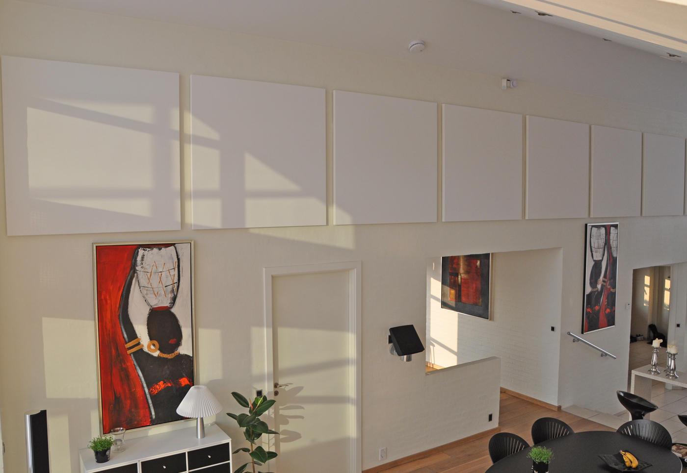 ALPHA SOLO - akustik og støjdæmpning hos private