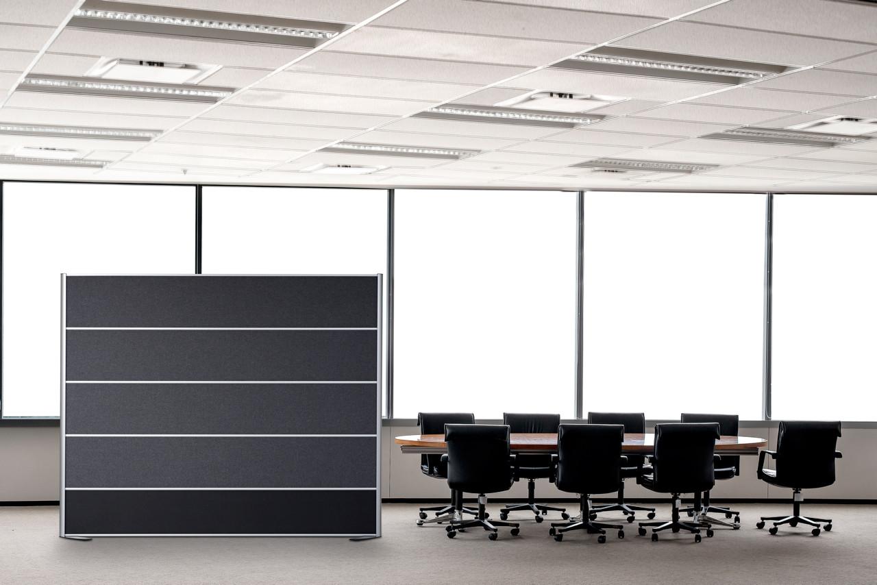 +DESIGN SKÆRMVÆG – støjdæmpning til kontoret