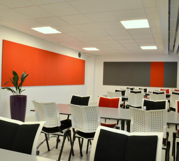 ALPHA TYST – akustik og støjdæmpning på kontor